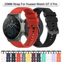 Bracelet de montre connectée officiel, en Silicone, pour Huawei Honor Watch GT 2 Pro GS Pro GT 2e Magic 2 GT2, 46/42mm
