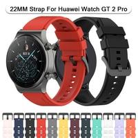 Officiële Smart Horloge Band Bandjes Voor Huawei Honor Horloge Gt 2 Pro Gs Pro Gt 2e Magic 2 GT2 46/42Mm Polsband Siliconen Armband