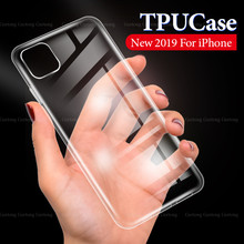 Penuh Tubuh Lembut Silicone Shell UNTUK iPhone X Max X 7 8 6 6 S Plus XR Ultra Tipis Anti -Shock Silicone Coque untuk iPhone 7 8 6 6 S 11(China)