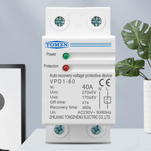 Protection-Relay Under-Voltage-Protective-Device Recovery Din Rail Over-Voltage 230V
