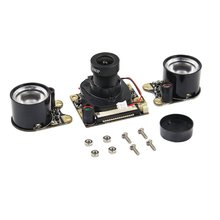 for raspberry pi camera module with automatic ir cut night vision camera 5mp 1080p hd webcam for raspberry pi 4b model 3 b For Raspberry Pi Camera Module with Automatic IR-Cut Night Vision Camera 5MP HD Webcam for Raspberry Pi 4 Model B/3B+/3B/2B