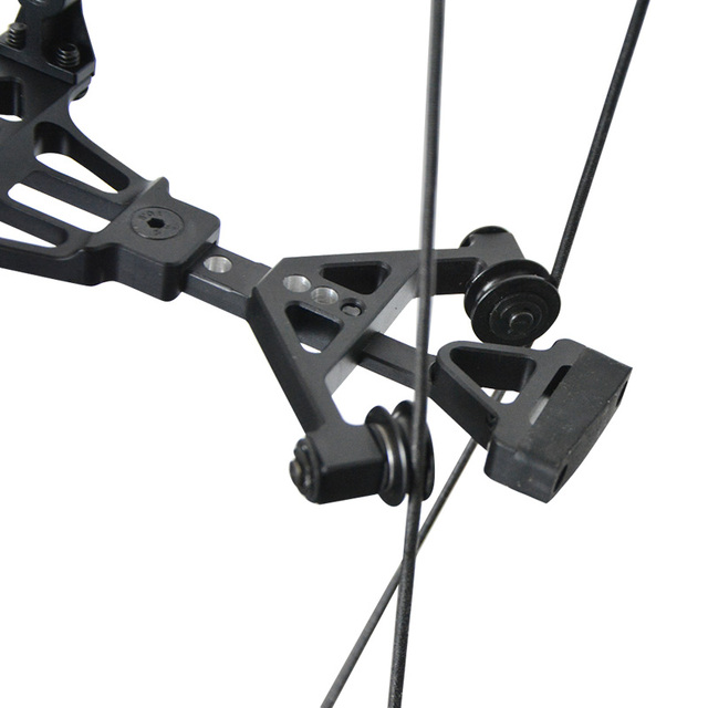 NEW 30-60LBS Archery Compound Bow 310FPS RH Catapult Dual-use Steel Ball Arrows Shooting slingshot Hunting Shooting 6