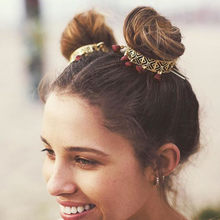 Oco para fora vermelho borlas varas de cabelo feminino jóias do vintage acessórios de casamento casamento boho bun ouro pinos de cabelo feminino