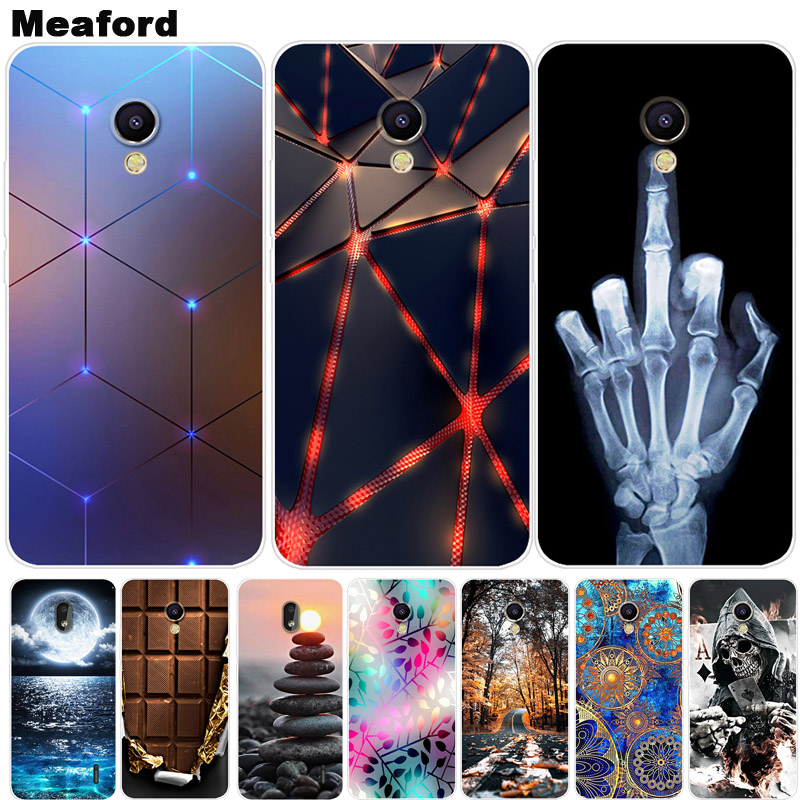For Meizu C9 Pro Case Cover Soft Silicone Cartoon Printing Back Case For Meizu C9 C9Pro M 9C Phone Cover Case For Meizu M9C C 9