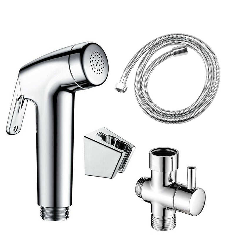1x ABS Bathroom Toilet Bidet Spa Shower Spraying Kit Cleaning Sprayer Sprinkler