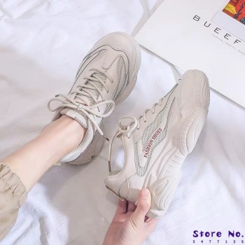 NEW Sneakers Women 2020 Breathable Mesh Casual Shoes Female Fashion Sneaker Lace Up High Leisure Women Vulcanize Shoes Platform habuckn 2020 new white leisure sneakers women shoes chunky sneakers platform vulcanize shoes woman breathable mesh sequins