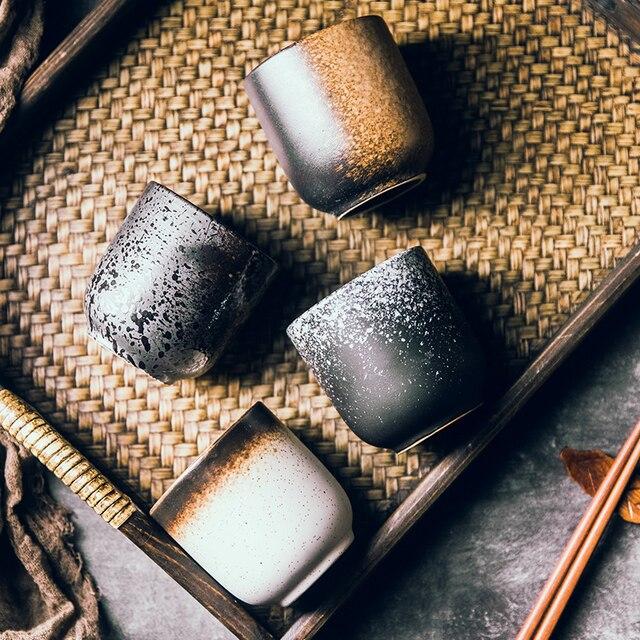 Чайная чашка RUX, керамическая, ручная роспись 4