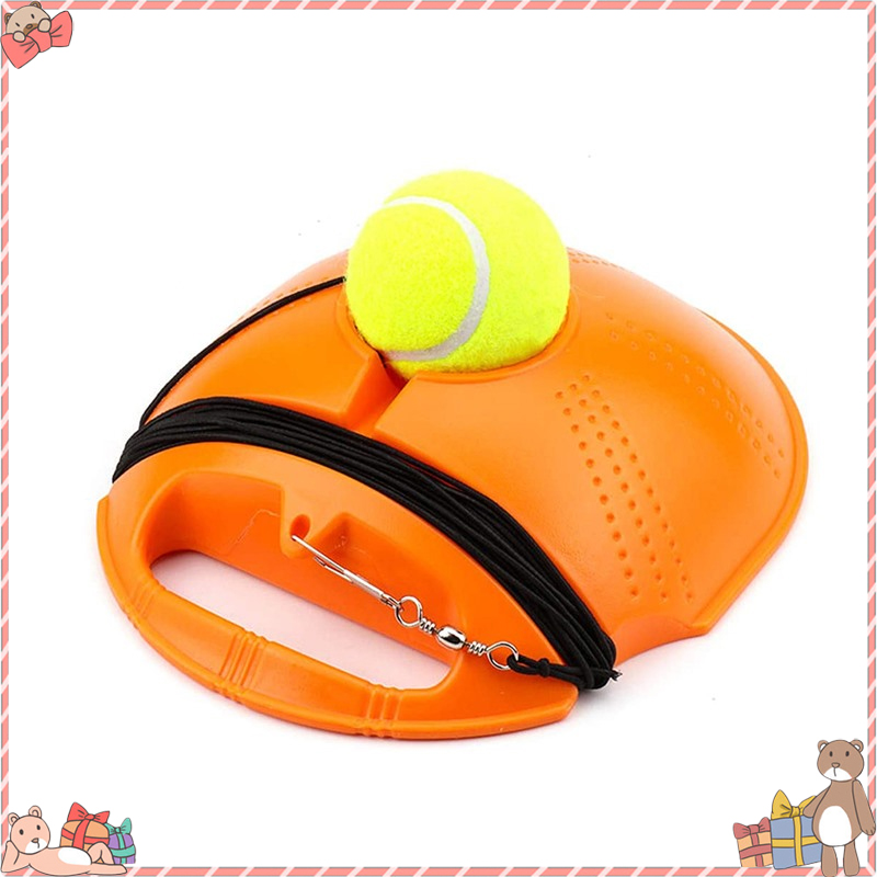 Single Tennis Trainer Pro Tennis Training Tools Exercise Ball Rebound Ball Trainer Practice Back Base Tennis Training Tools