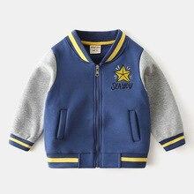 Baseball Jacket Coat Korean Baby Sweater Autumn Baby-Boy Winter Children's Boys Fall