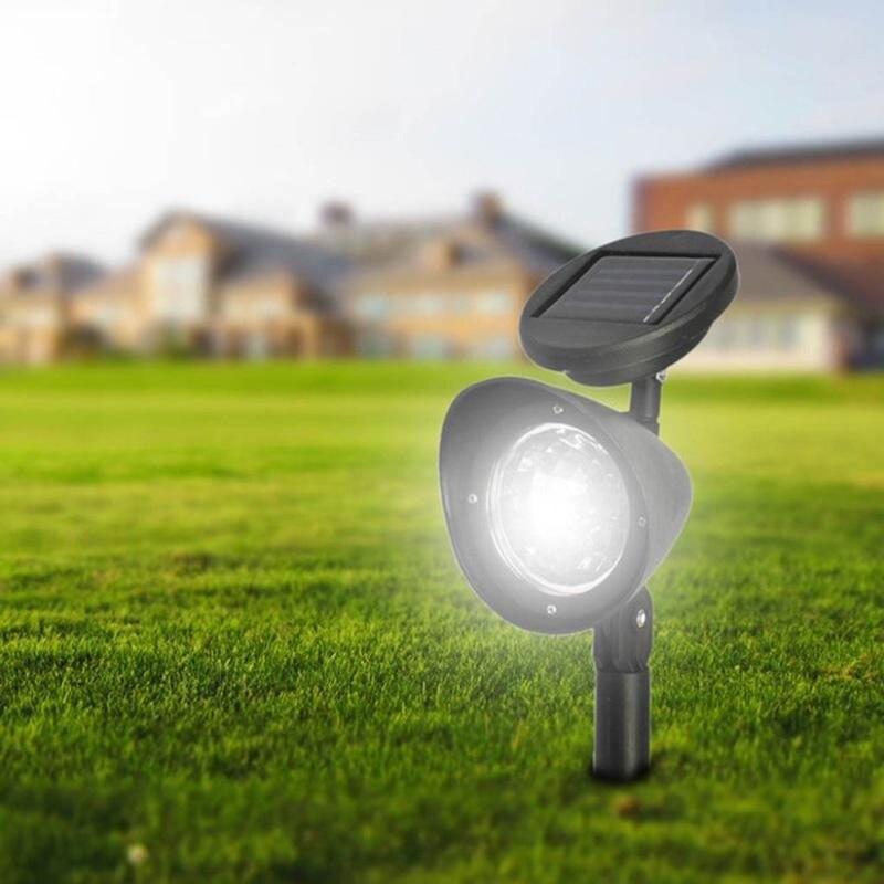 Bright Spotlight Automatische Sensor Floor Lights LED Zaklamp Landschap Solar Light Outdoor Lamp Energiebesparende Tuin