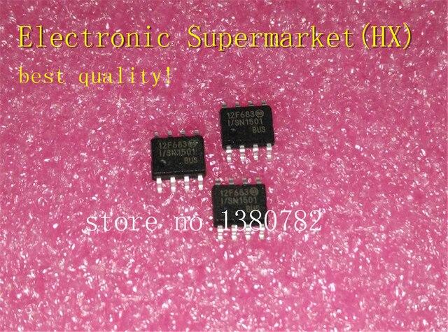 شحن مجاني 100 قطعة/السلع PIC12F683 I/SN PIC12F683 SOP 8 جديد الأصلي IC في الأسهم!