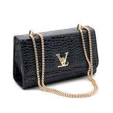 Hand bag Fashion Brand Women Bag Alligator Messenger Bags Designer Chain Shoulder Crossbody Bags for Women Handbag Bolso Mujer