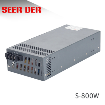 S-800W 12V 24V 36v 48V 800 watt 16.5a industrial switching power supply /800w 1000w psu