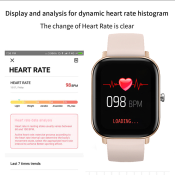 LIGE 2020 Smart Watch Women Sports Fitness Tracker IPX7 Waterproof LED Full Touch Screen Suitable For Android Ios Smartwatch Men