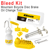 Hydraulic Disc Brake Bleed Kit MTB Bike Universal Tool Kit For Shimano/Tektro/Magura/Sram/Avid/Hayes/Formula/Butt Brake/Giant bicycle hydraulic disc brake bleed kit tool for sram guide level avid elixir juicy code formula hygia usagi hayes eooz