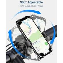 360 Rotatable Bicycle Phone Holder Universal Motorcycle Handlebar Rack Mount for iPhone Huawei Bike New