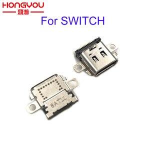 Image 1 - 30 Chiếc Ban Đầu Cổng Sạc Cho Máy Nintendo Switch NS Tay Cầm Sạc Cắm Điện Loại C Ổ Cắm công Tắc