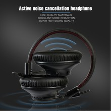 AN07 ANC Headset Wireless Bluetooth Headphones Hifi Sports Earphones With Mic LOW LATENCY Fast Audio For Gaming TV PC