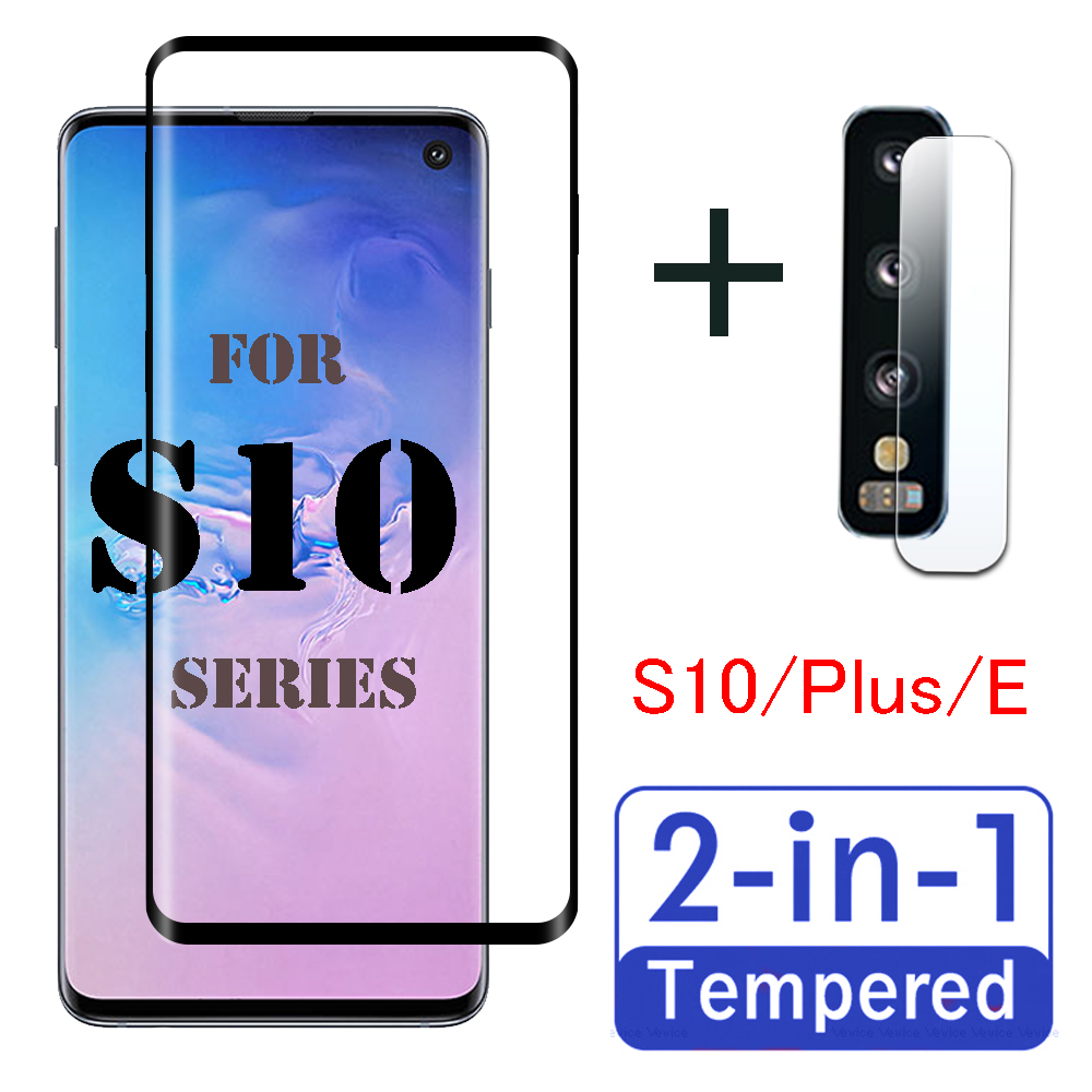 S 10 Plus Protective Glass For Samsung Galaxy S10 S10e Lite Screen Protector S10plus Lens Tempered Film 10e 10s Armored Sheet On