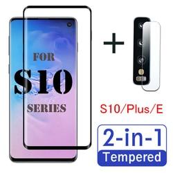 S 10 Plus szkło ochronne do Samsung galaxy s10 s10e folia ochronna na ekran lite s10plus soczewka hartowany film 10e 10 s arkusz pancerny na|Etui do ekranu telefonu|   -