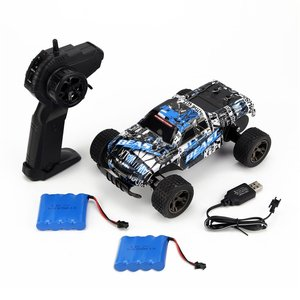 LR-C004 1/18 RC Car 4WD climbing Car Double Motors Drive Bigfoot Car Remote Control Model Off-Road Vehicle Toys Gift