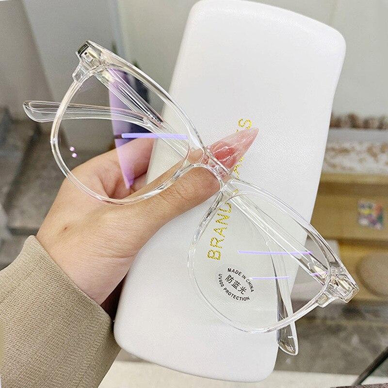 -1.0-1.5-2.0-2.5-3.0-6.0 para-transparente acabado miopia óculos homens mulher preto óculos prescrição óculos de visão curta