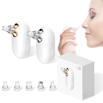 New Facial Blackhead Remover Vacuum Face Deep Pore Cleaner Suction Acne Pimple Removal Tool With Mini Nano Facial Steamer Spray