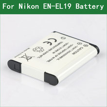 Lanfulang EN-EL19 RU EL19 цифровой Камера Батарея для Nikon Coolpix S32 S33 A300 S100 S2700 S2750 S2800 S3100 S3200 S3400 S3500