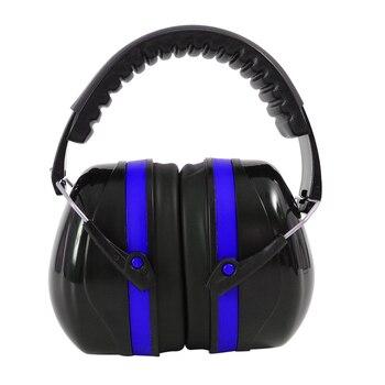 Protectores de oídos plegables tapones tácticos de caza protectores SNR montados en la cabeza a prueba de ruido orejeras a prueba de sonido