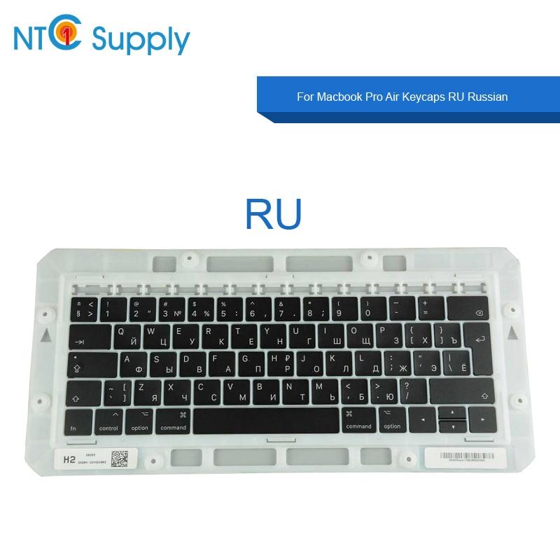 NTC Supply Brand new keycaps RU For Macbook Pro Air A1706 A1707 A1708 A1932 A1989 A1990 A2159 A2141 Keycaps RU Russian