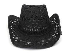 Słomkowy zachodni kapelusz kowbojski ręcznie robiony plażowy filcowy Sunhats czapka imprezowa dla mężczyzny kobieta Curling czapka z rondem ochrona przeciwsłoneczna Unisex Bob kapelusze tanie tanio Beach Słomy Ochrona przed słońcem Na wiosnę i lato CN (pochodzenie) Dla osób dorosłych Kowbojskie kapelusze Na co dzień