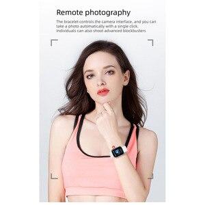 Image 4 - 90% off 38mm חכם שעון קצב לב לחץ דם Bluetooth גבר אישה Smartwatch עבור אפל שעון אנדרואיד טלפון IWO עמיד למים