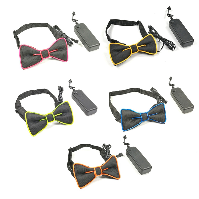 Glowing LED Bow Tie 8