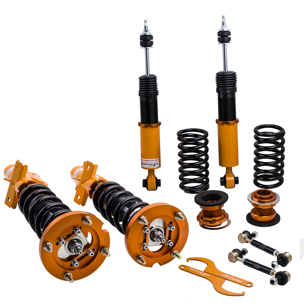 Strut /& Spring Assembly for Ford Mustang 4th 05-14 24 Ways Adj Damper Coilovers