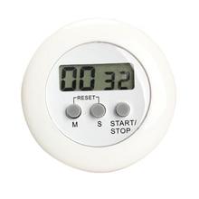 ЖК-дисплей цифровой кухонный счетчик времени обратного отсчета магнитный Таймер задняя подставка для приготовления пищи подсчет времени будильник