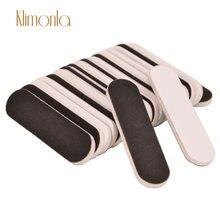 500 шт/упак мини Пилочки для ногтей 180/240 блок наждачной бумаги
