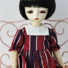 JD256 1/6 Мода BJD синтетические мохеровые кукольные парики для размера 6-7 дюймов, парик для куклы короткие кукольные парики BoBo