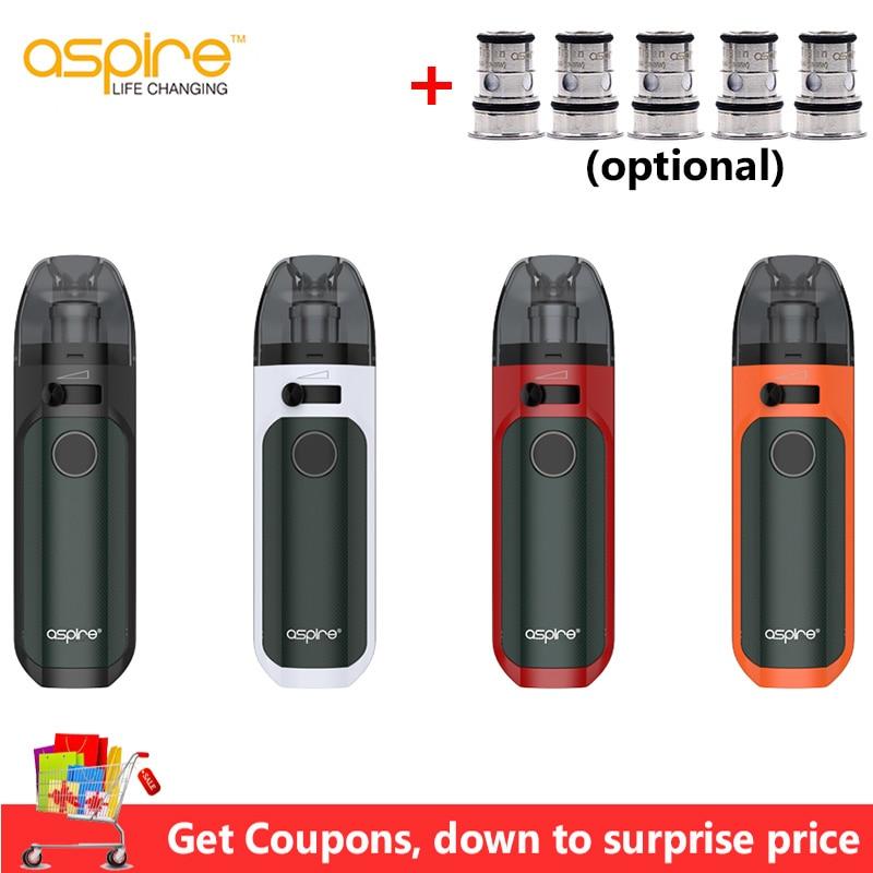 In stock! Aspire Tigon AIO Kit 1300mAh Battery 4.6ml Vape Pod  with Tigon Coils Electronic Cigarette Kit vs Aspire Breeze  NXTElectronic Cigarette Kits