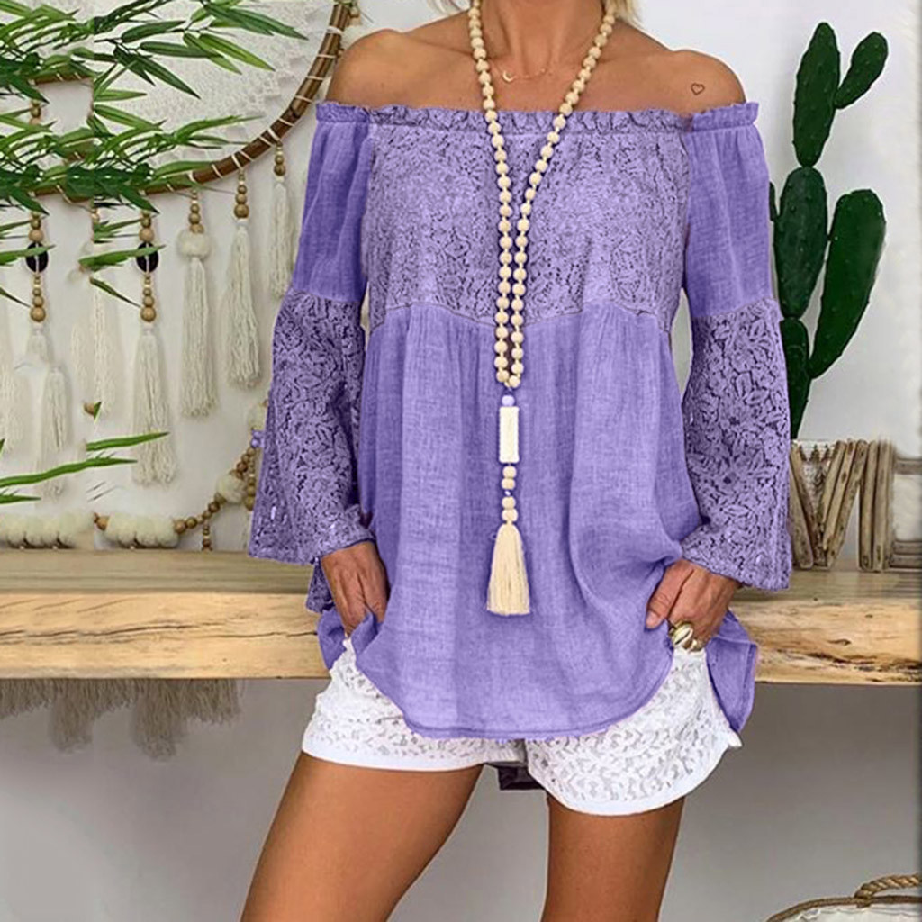 New Bardot Plus Women/'s Gingham On or Off Shoulder Gypsy Top Ladies Lace Sleeve