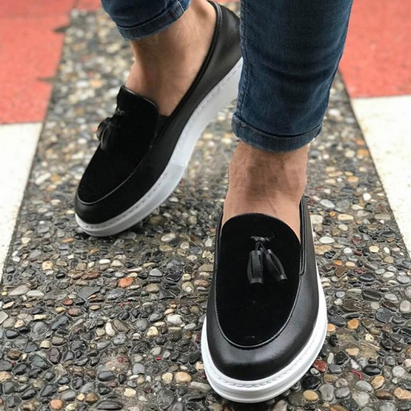 Chekich CH002 Black BT Male Sneakers Corded Fashion Style Daily Flexible Formal Comfortable Sneakers Spring 2020 кроссовки муж