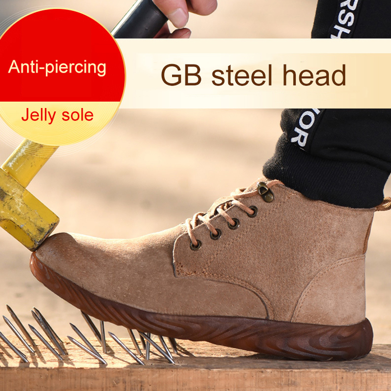 Work Boots Safety indestructible Shoes