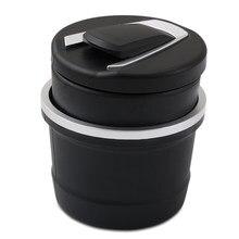 Cenicero de basura para coche, contenedor de taza de almacenamiento de monedas, cenicero para cigarros, para Volkswagen VW Golf GTI Tiguan Passat B5 B6 B7 CC Jetta POLO
