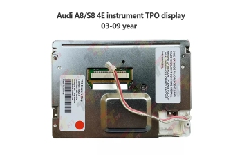 Instrutment Cluster For Audi A8 S8 4E instrument TPO Display 2003~2009 LTE052T-4301-1 4E0920901A image