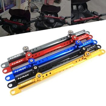 цена на For YAMAHA NMAX155 NMAX125 NMAX N-MAX 155 125 2017 2018 Motorcycle CNC Mutifunctional Cross Bar Steering Damper balance lever