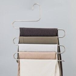 Многофункциональная 5-слойная стойка для штанов BAKINGCHEF, Органайзер Домашний для хранения одежды, аксессуары, принадлежности