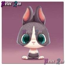 5d картина из мультфильма «милый кролик» алмазная вышивка квадратная