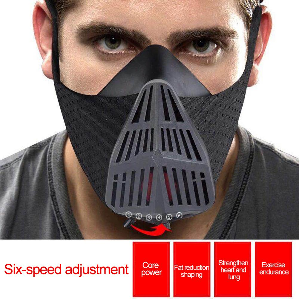 Oxygen-controlling Mask Sports Running Mask Training Fitness Cycling Elevation High Altitude Training Conditioning Sport Masks 4