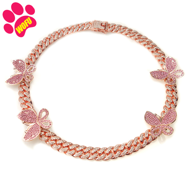 She's Going To Love Her New Collar In Pink For Pups & Kittens  3