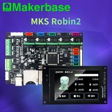 Makerbase Mks Robin2 32Bit Besturingskaart 3D Printer Onderdelen 3.5tft Touch Schermen Wifi Controle Gcode Preview