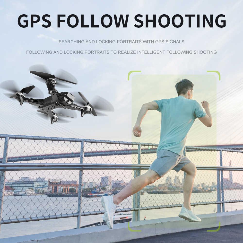 معينات بدون طيار fj38 جي بي إس تتبع لي واي فاي كوادكوبتر هليكوبتر 4K كاميرا بدون طيار طوي ارتفاع عقد RC بدون طيار مع الكاميرا